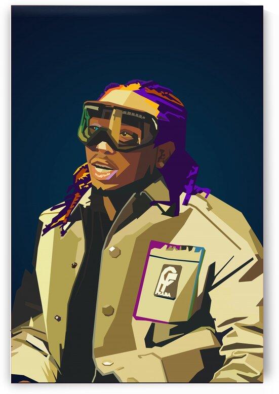 Migos Quavo Rapper by Long Art