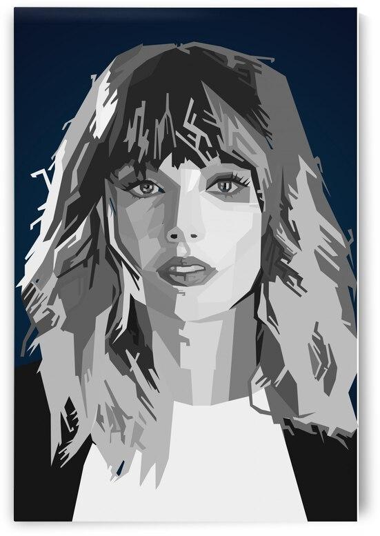 Taylor Swift SINGER by Long Art