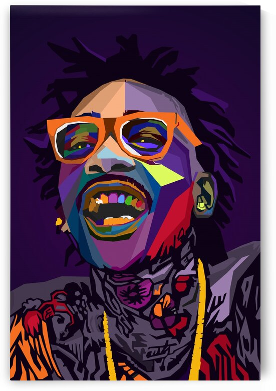 Wiz Khalifa Rapper Musicain Wpap by Long Art