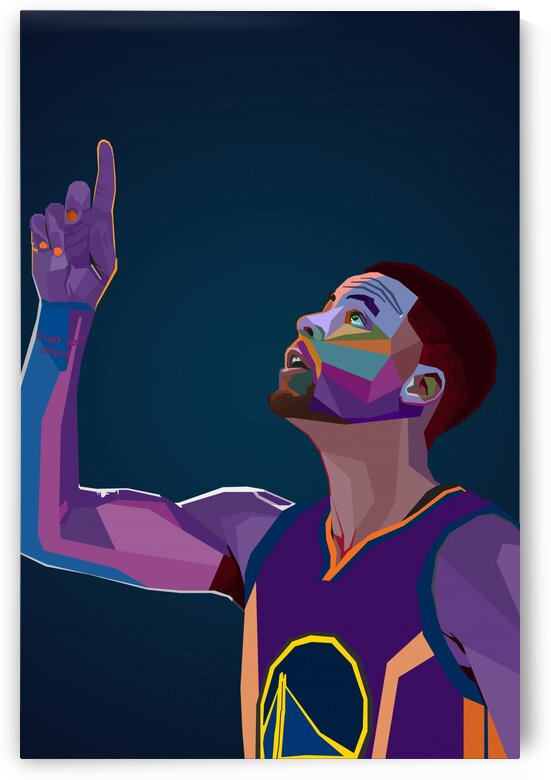 Stephen Curry Wpap by Long Art
