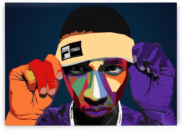 Tyga rapper by Long Art