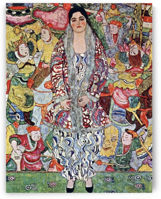 Portrait of Frederika Maria Beer by Klimt by Klimt