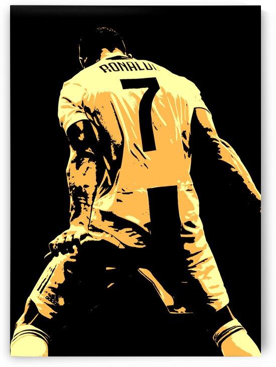 Cristiano Ronaldo by Long Art