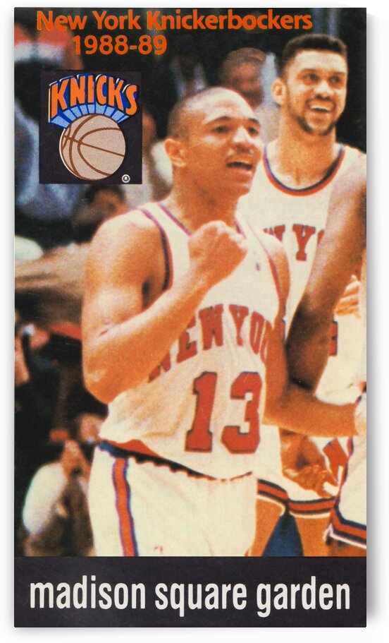 1988 New York Knicks Mark Jackson by Row One Brand