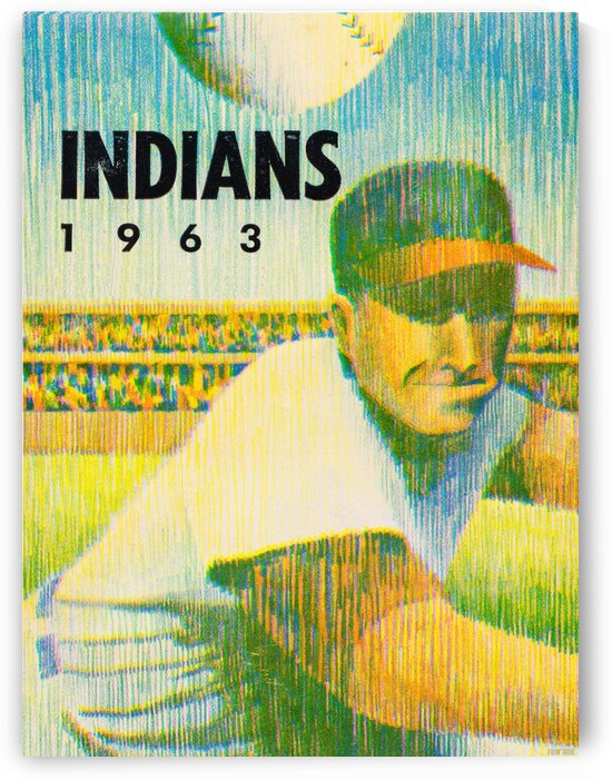 1963 Cleveland Indians Art by Row One Brand