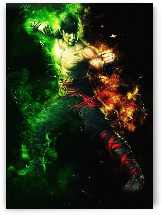 Liu Kang Mortal Kombat by Long Art