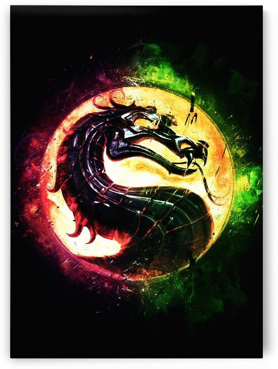 Mortal Kombat logo by Long Art