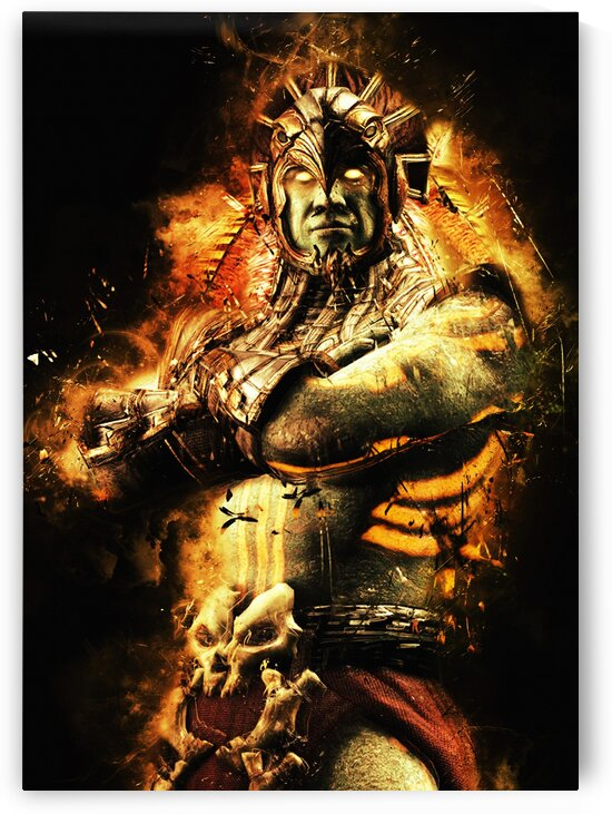 Mortal Kombat X Shao Kahn by Long Art