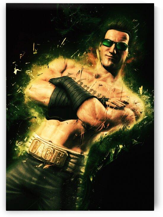 Johnny Cage Mortal Kombat by Long Art