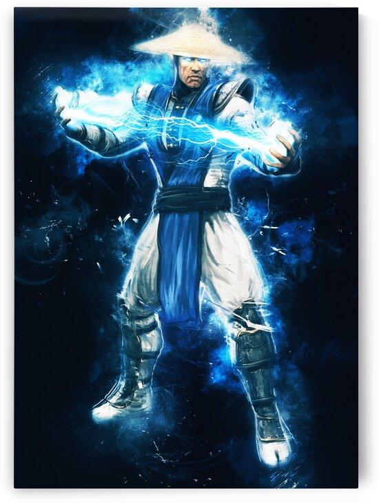 Lord Raiden Mortal Kombat by Long Art