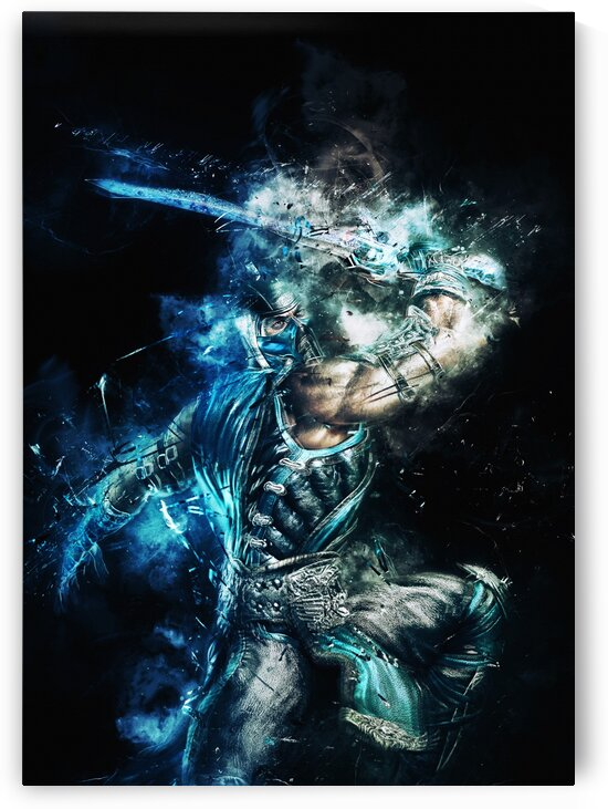 Sub Zero Mortal Kombat by Long Art