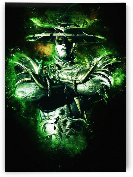Raiden Mortal Kombat X by Long Art