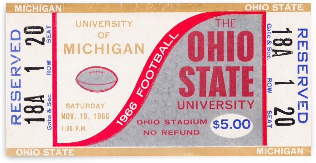 1966 Michigan vs. Ohio State by Row One Brand