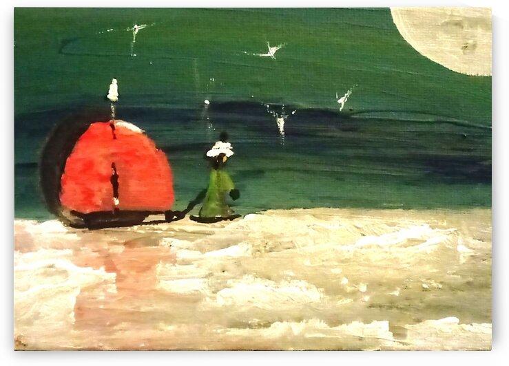 Girl on Ice by dawnrettew
