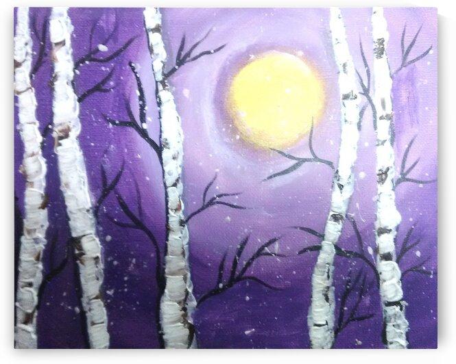 Birch Trees by dawnrettew