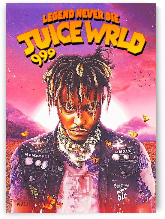 Juice WRLD Pop Art 999 by Hatker Art Store