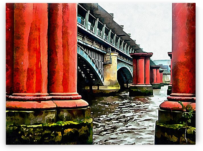 Blackfriars Railway Bridge by Dorothy Berry-Lound
