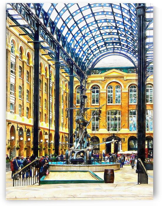 Hays Galleria London by Dorothy Berry-Lound