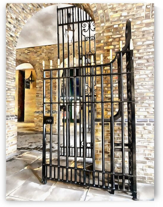 Gates at Hays Galleria London by Dorothy Berry-Lound