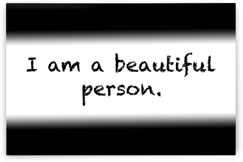 Affirmation: I am a beautiful person by Red Pill Metaphysics