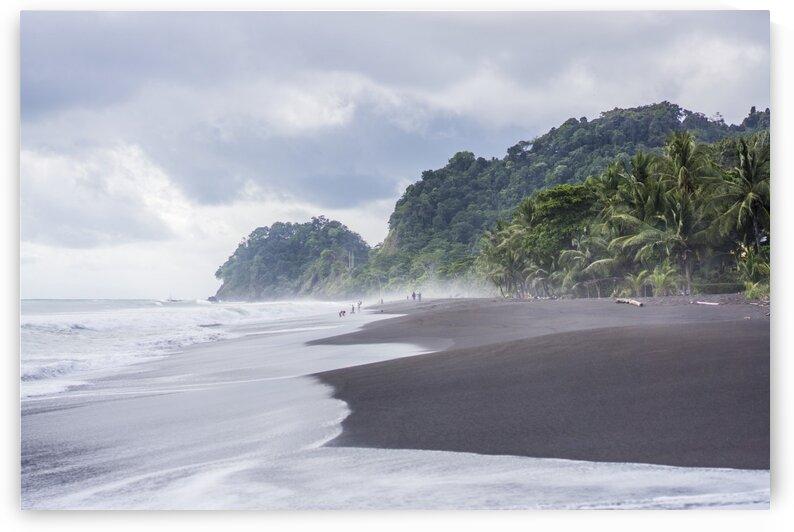 Playa Hermosa Black sand beach Coasta rica by Atelier Knox