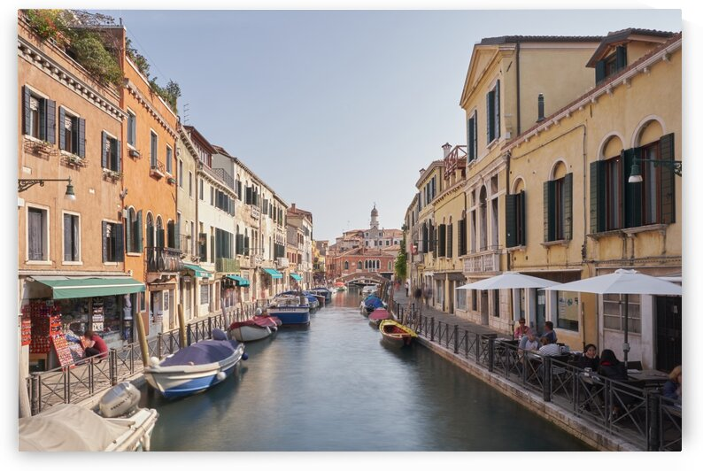 Streets and canal in italian city Venice Italy by Atelier Knox