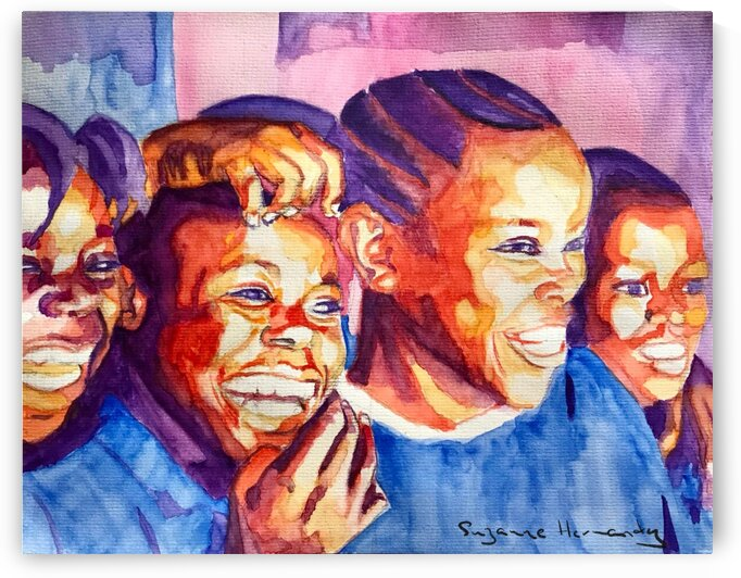 Happiness is Friends by Suzanne Hernandez