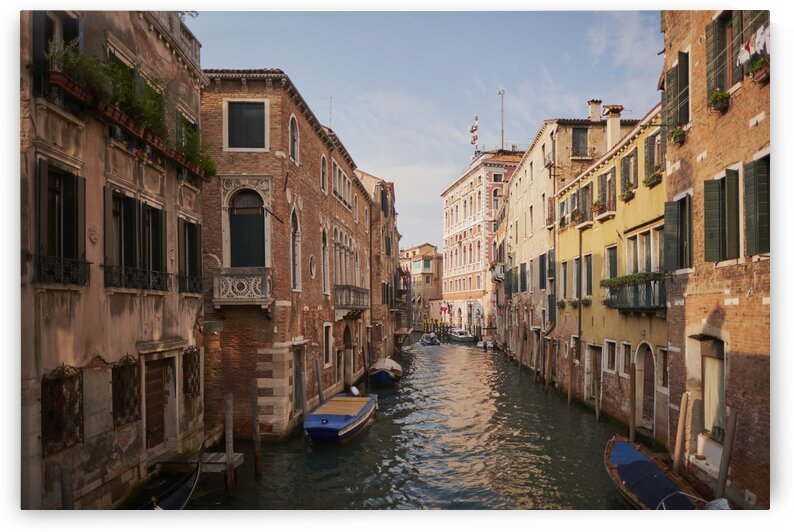 Venetian canals with italian architecture Venice Italy by Atelier Knox