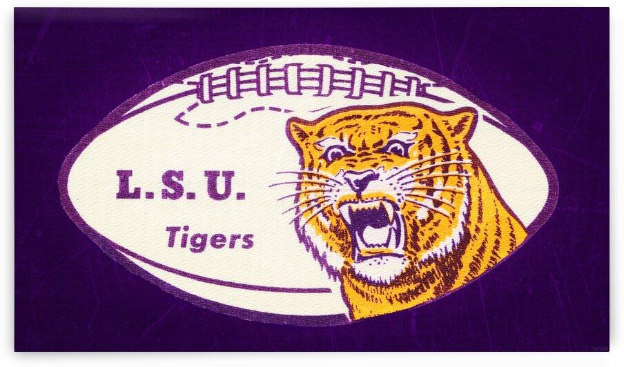 1960s LSU Tigers Football by Row One Brand