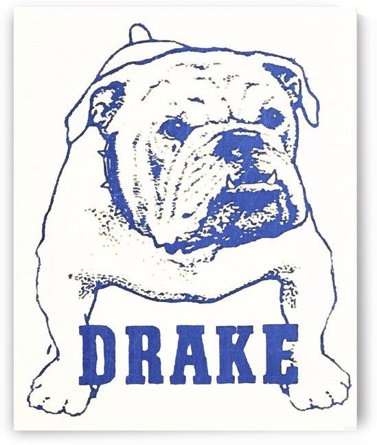 1950s Drake Bulldog Art by Row One Brand