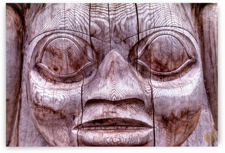 191    Haida Totem detail by 4U2C