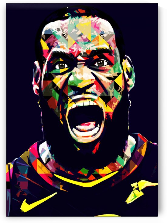 LeBron James by Hatker Art Store