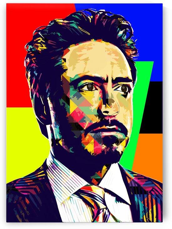 Robert Downey Jr by Hatker Art Store