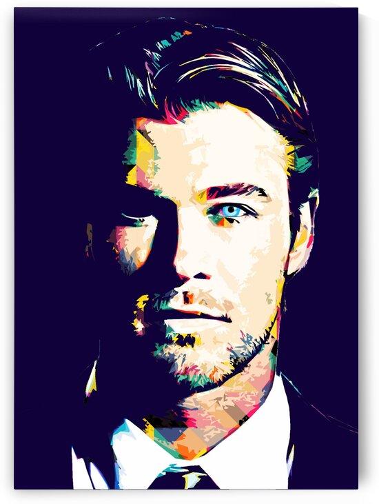 Chris Hemsworth by Hatker Art Store