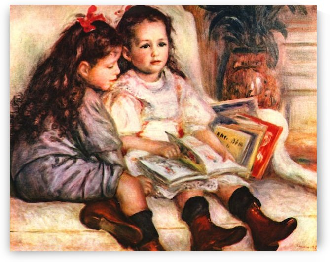 Portrait of Jean and Genevieve Caillebotte by