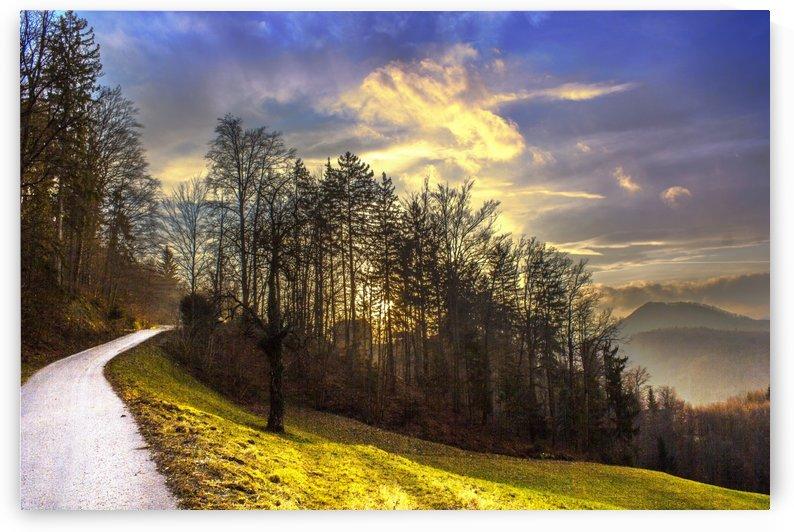 Winter sunset by Dario Barukcic