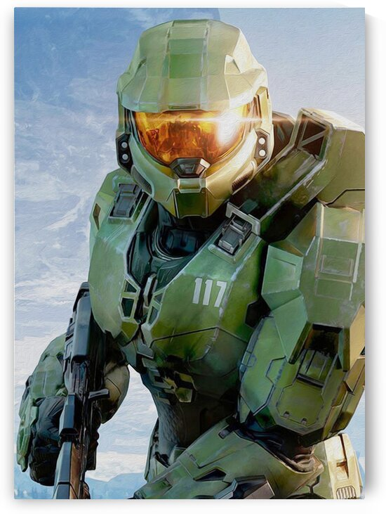 Halo Master Chief by Hatker Art Store