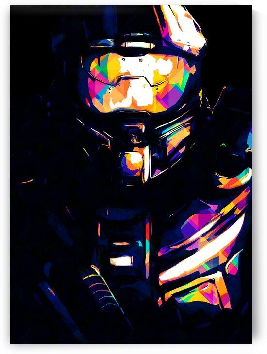 Halo Master Chief by Hatker Art Store