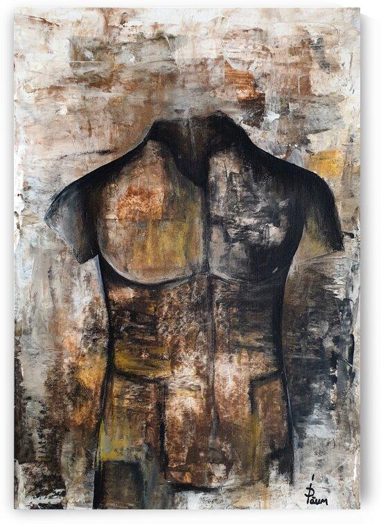 Man sculpture by Iulia Paun ART Gallery