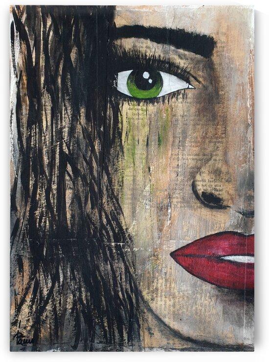 Green eyes girl by Iulia Paun ART Gallery