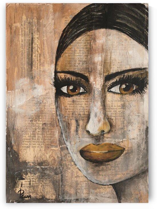 Hazel eyes girl by Iulia Paun ART Gallery
