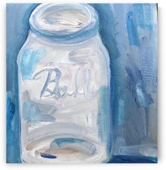 Blue Jar by J HARRIS