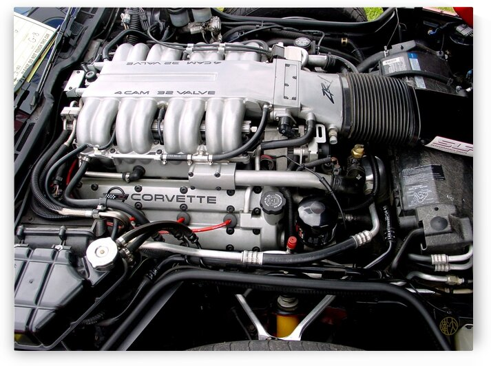 110    Corvette Engine by 4U2C