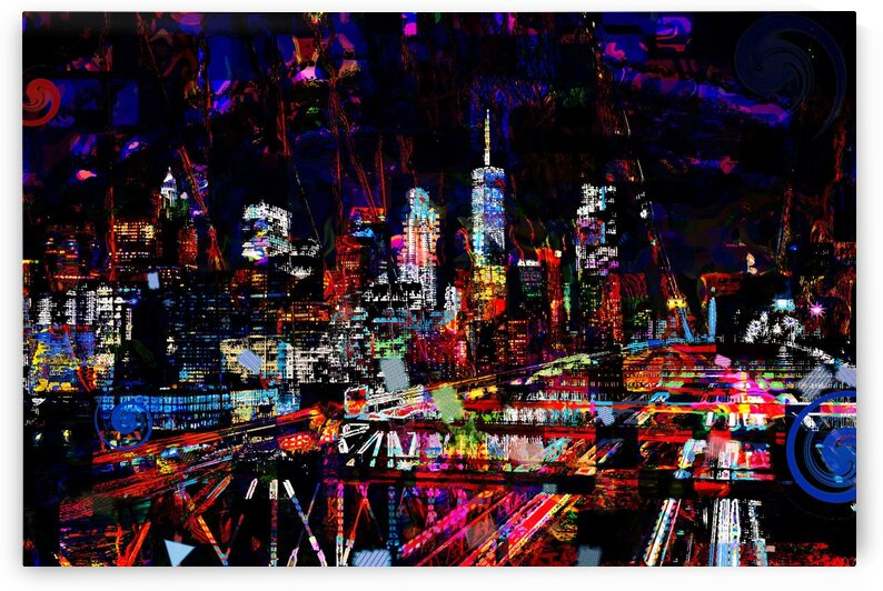 City-night by Jean-Francois Dupuis