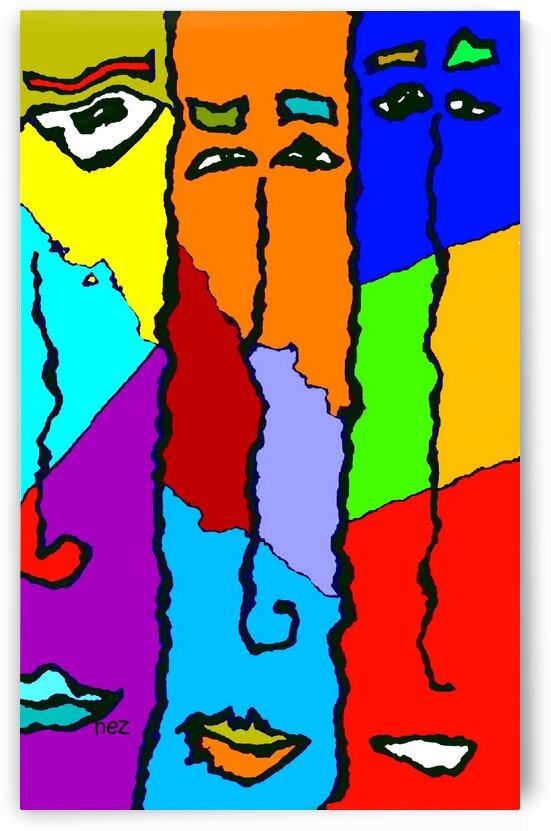 Three Friends by Efrain Montanez