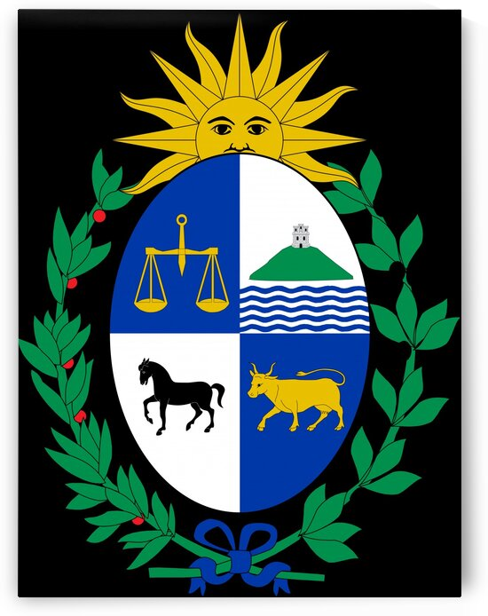 Uruguay Coat of Arms by Fun With Flags