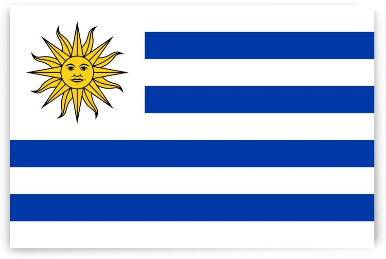 Uruguay Flag by Fun With Flags