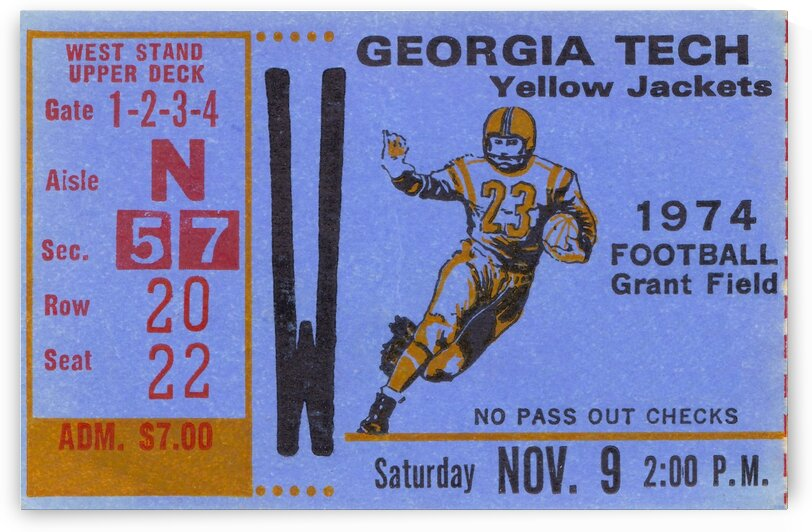 1974 georgia tech remix by Row One Brand