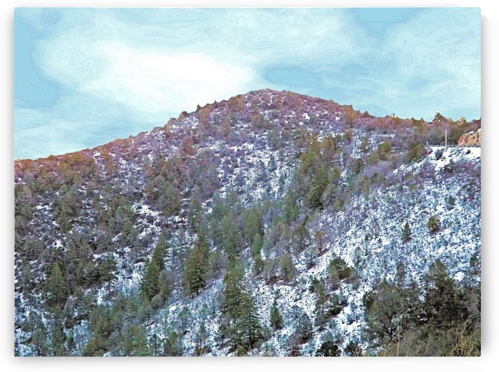 Melting Snow by Arizona Photos by Jym