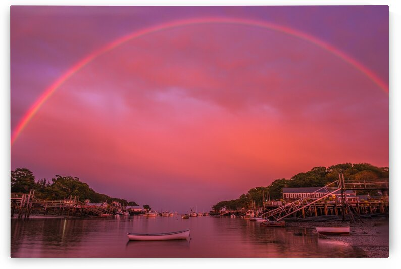 Harbor Rainbow by Bob Kofman